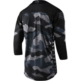 Troy Lee Designs Ruckus Factory Camo 3/4 Maillot, grey/black